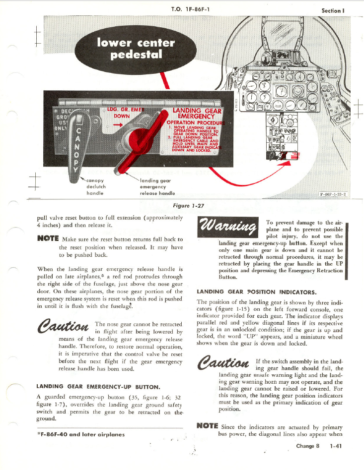 reported landing gear position indicator warning system ed forums rh forums eagle ru Flight Instruction Manual SR-71 Flight Manual