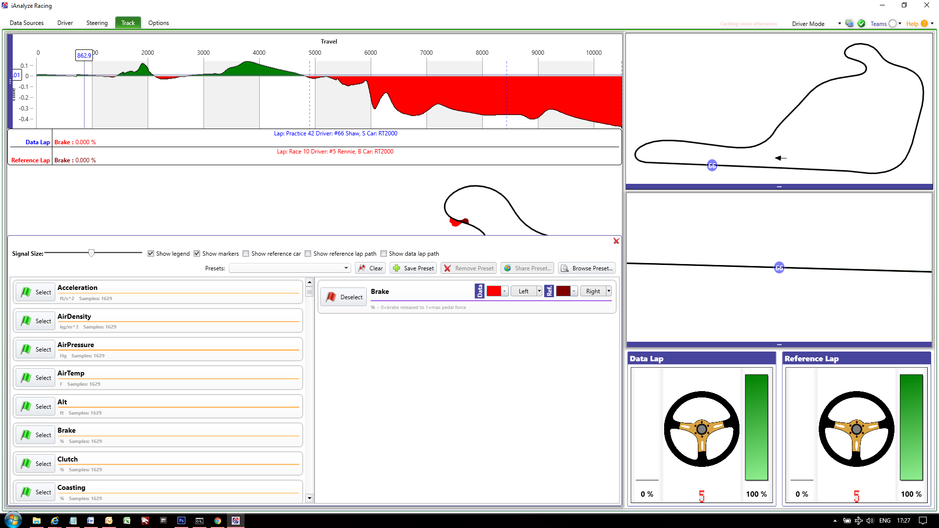 Telemetry programs for iRacing